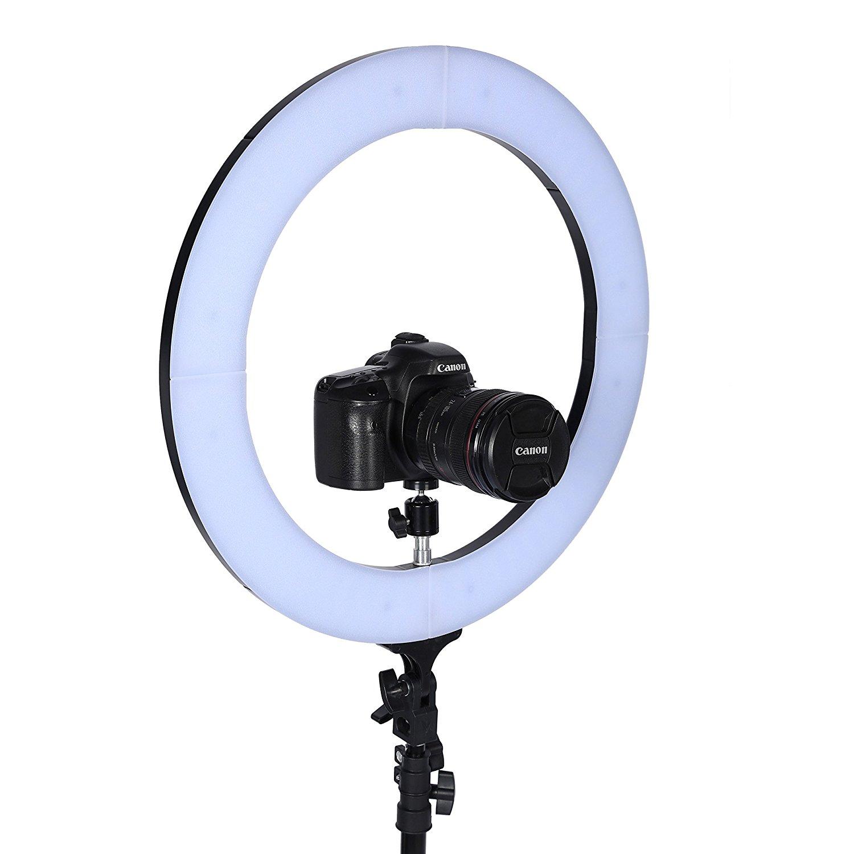 night time selfie light